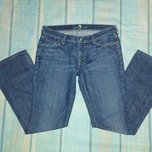 7 for ALL MANKIND Boot cut Jeans Size 31